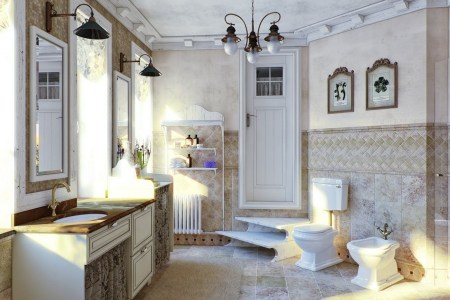 How to Design a Bathroom in French Style from A to Z   Home Interior     7 French style bathroom interior design ideas light