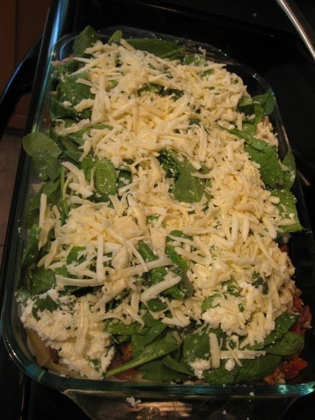 Baked Sausage and Spinach Penne
