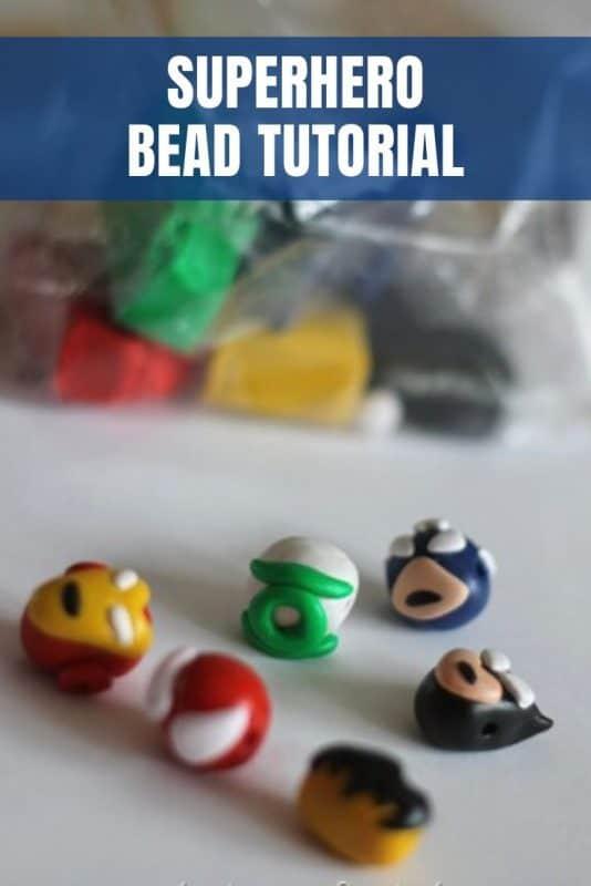 diy superhero beads