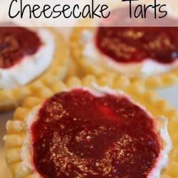 Pinspired Recipe ~ Raspberry Cheesecake Tarts