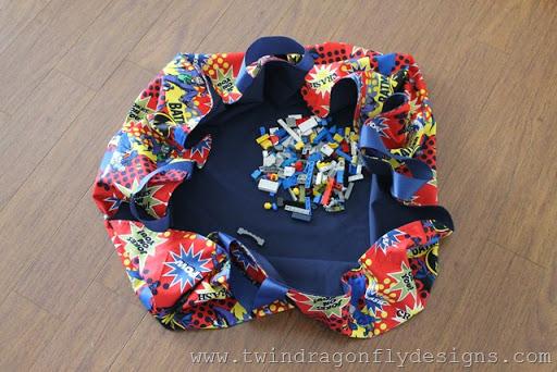 Lego Mat Bag