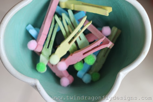 10 things to do with wooden bunny pegs…