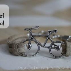 Bike Bracelet Tutorial