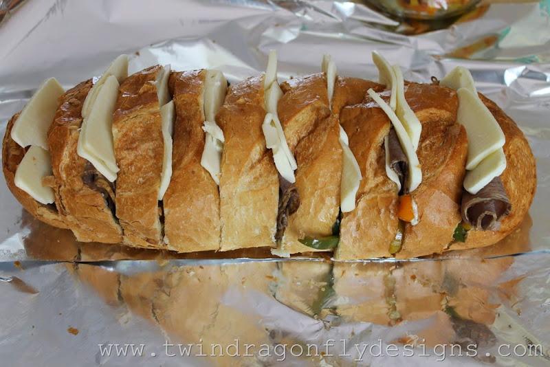 Campfire Philly Cheesesteak Sandwich