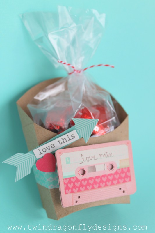 Valentine Fry Box | easy DIY