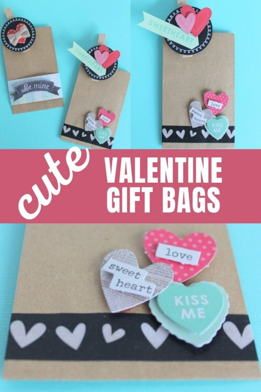 cute valentine gift bags