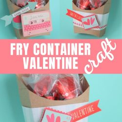 fry container valentine