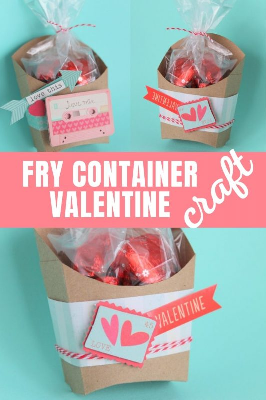Valentine Fry Box Craft