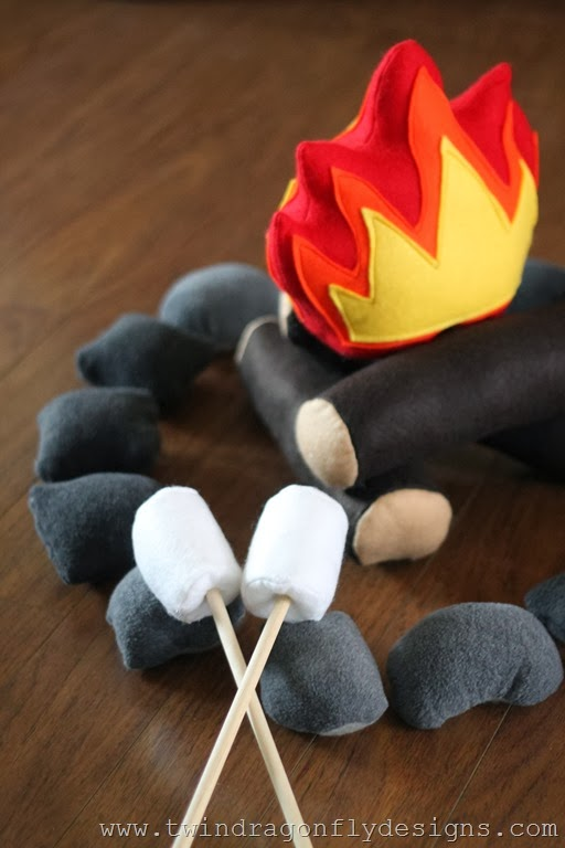 Felt Campfire Craft