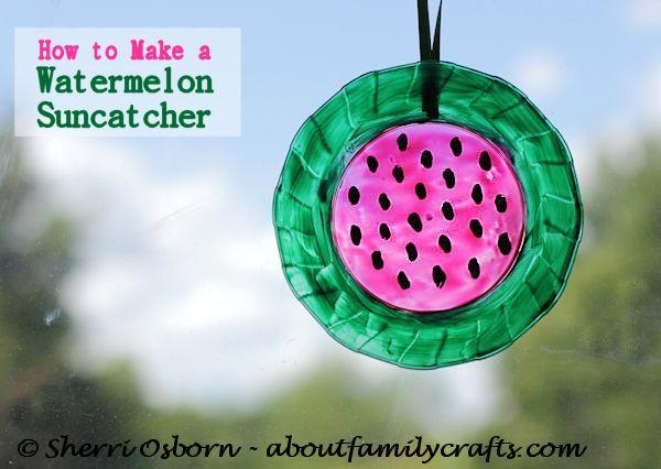 Watermelon Sun Catcher