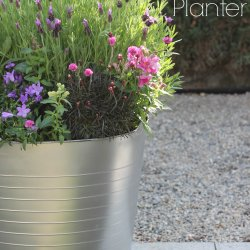 DIY Plastic Bucket Planter