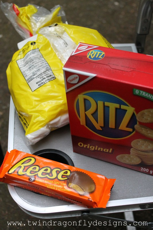 Ritz and Reese's Smores