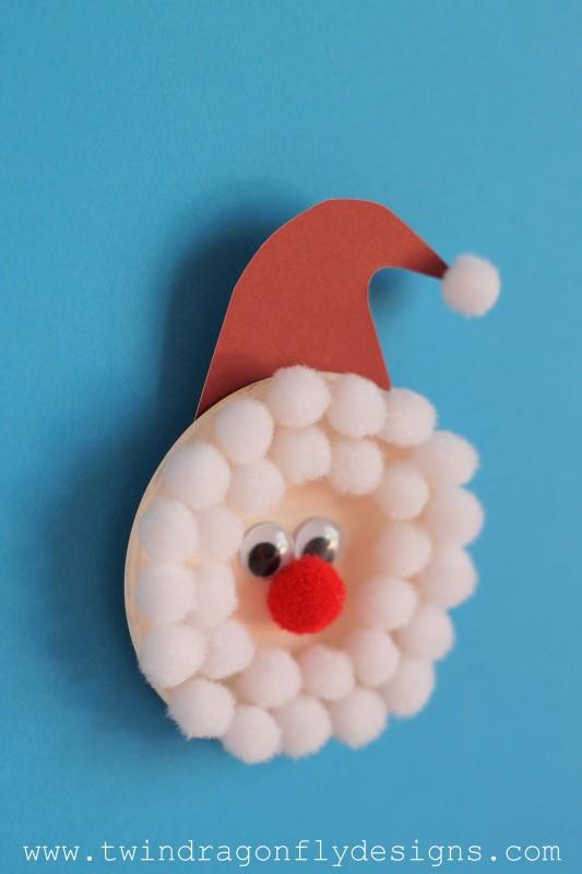 Santa Magnet Craft