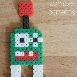 Plants vs Zombies Perler Bead Zombie Patterns