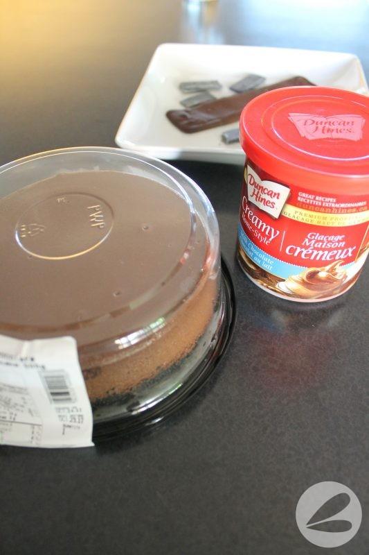 Easy Chewbacca Chocolate Cheesecake