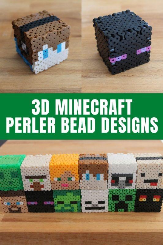 3d minecraft perler bead patterns