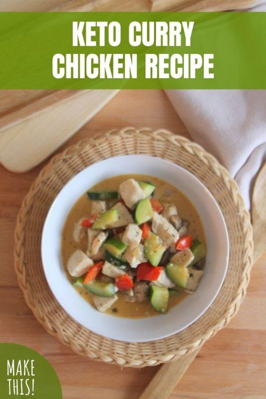 keto curry chicken recipe