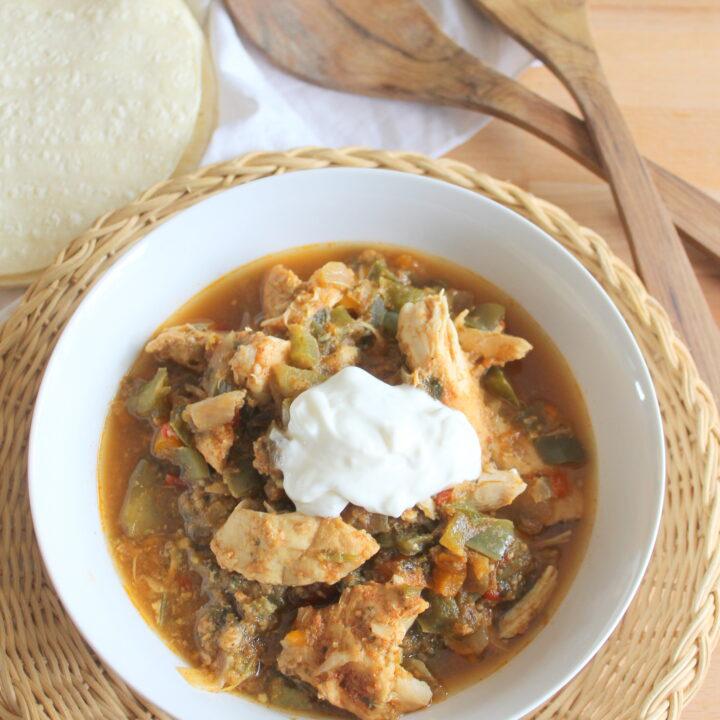 salsa verde crock pot chicken recipe