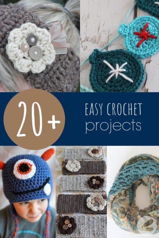 easy crochet projects
