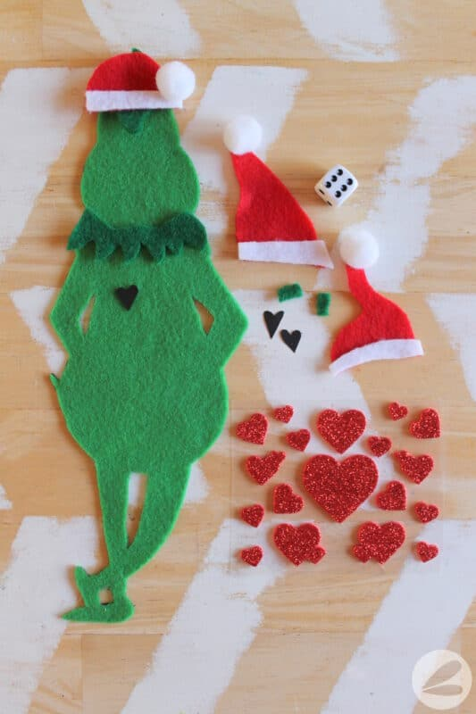 roll a grinch game