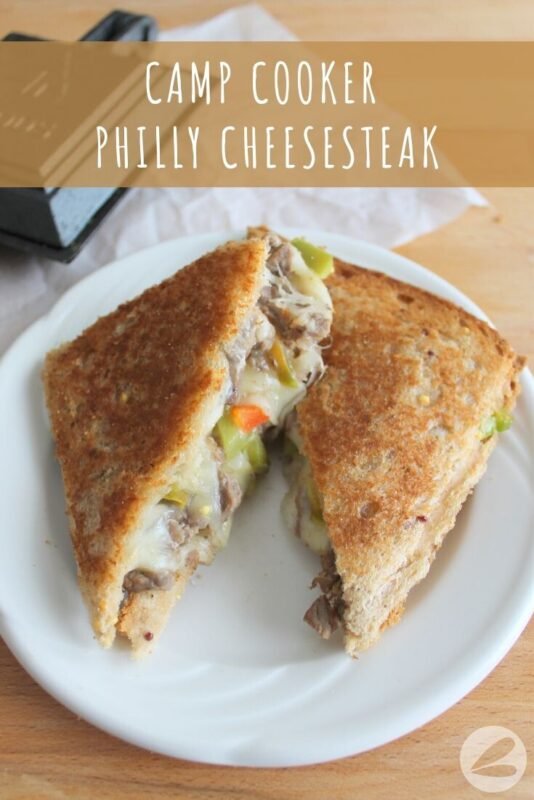 camp cooker philly cheesesteak recipe