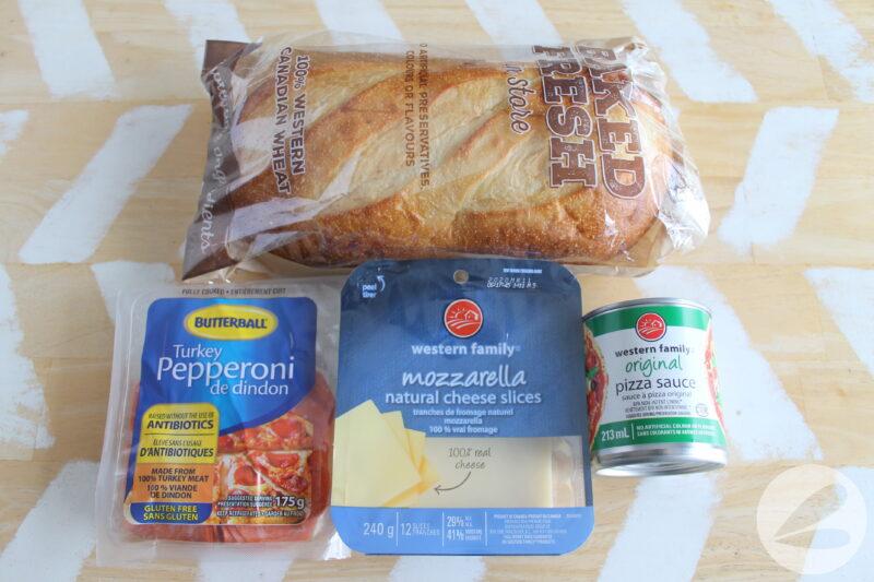 campfire pizza bake ingredients