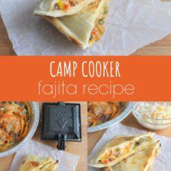 camp cooker fajita recipe