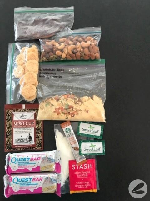keto backpacking food