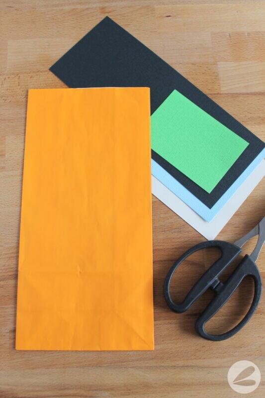 monster paper bag craft