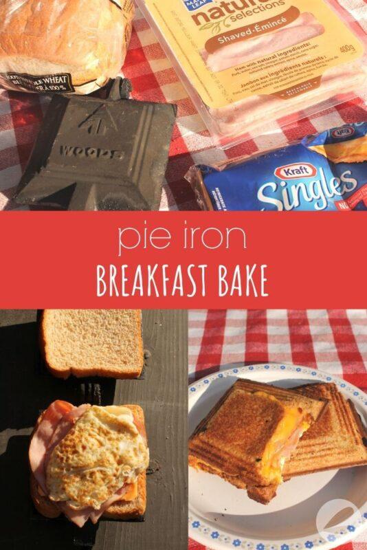 pie iron breakfast bake