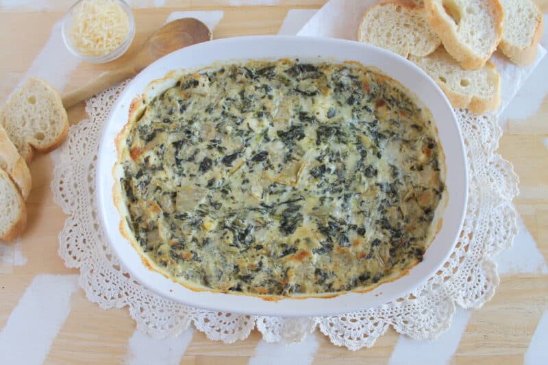 baked spinach dip