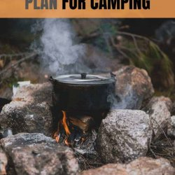 printable meal plan for camping