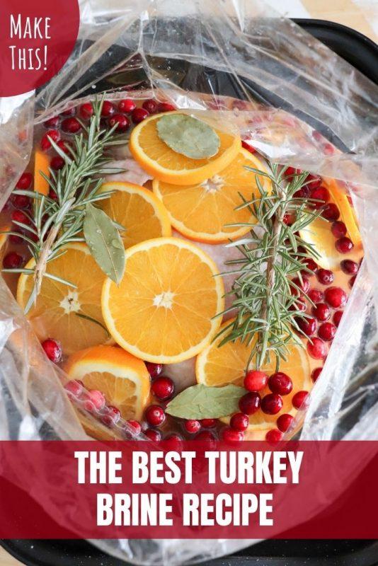 the best turkey brine recipe