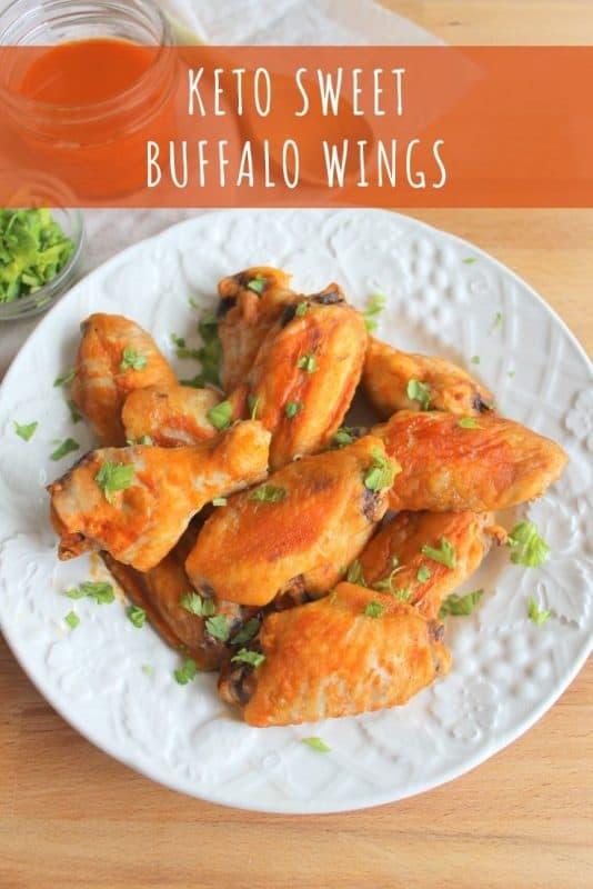 Keto Sweet Buffalo Wings Recipe