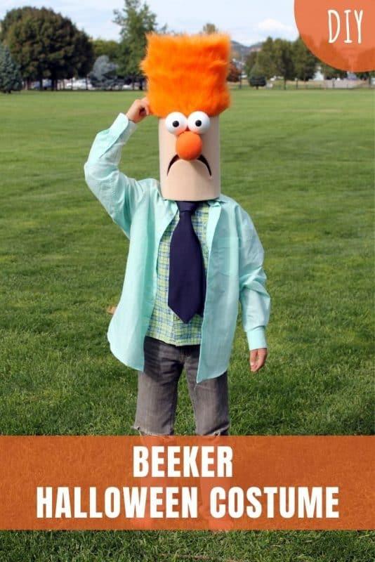 Beeker Halloween Costume DIY