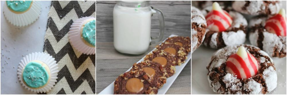 Candy Cane Brownie Blossom Recipe