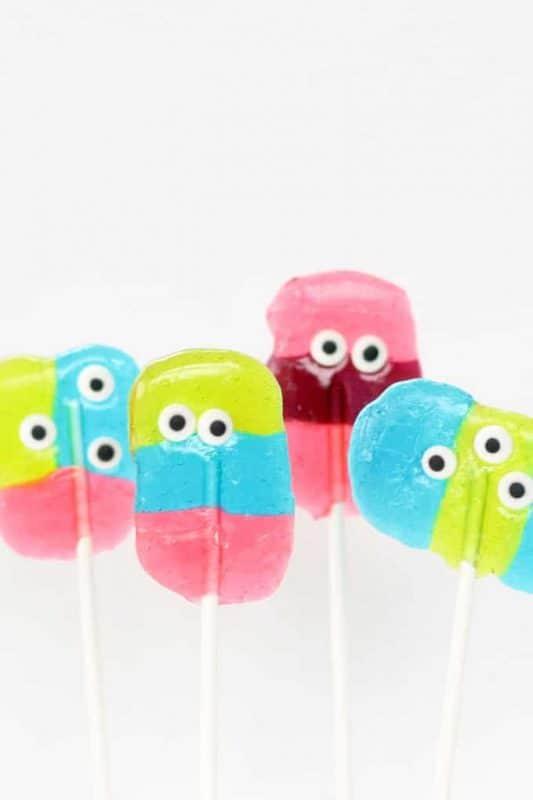 jolly rancher monster lollipops image