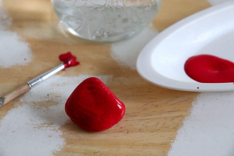 rock strawberry process