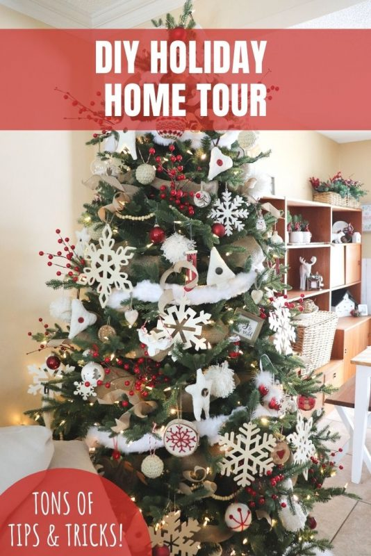 diy holiday home tour