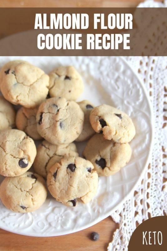 keto almond flour cookie recipe