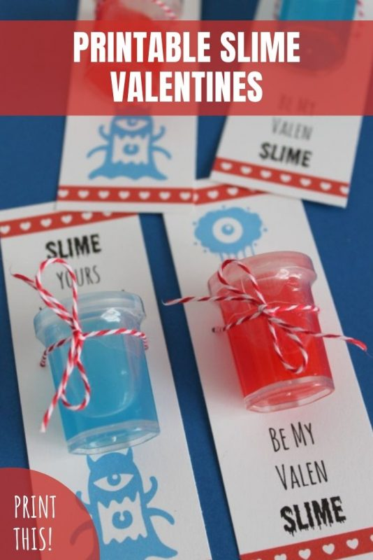 printable slime valentine