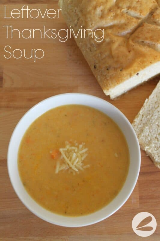 Leftover Thanksgiving Soup Recipe x
