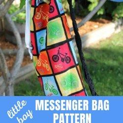 free messenger bag pattern
