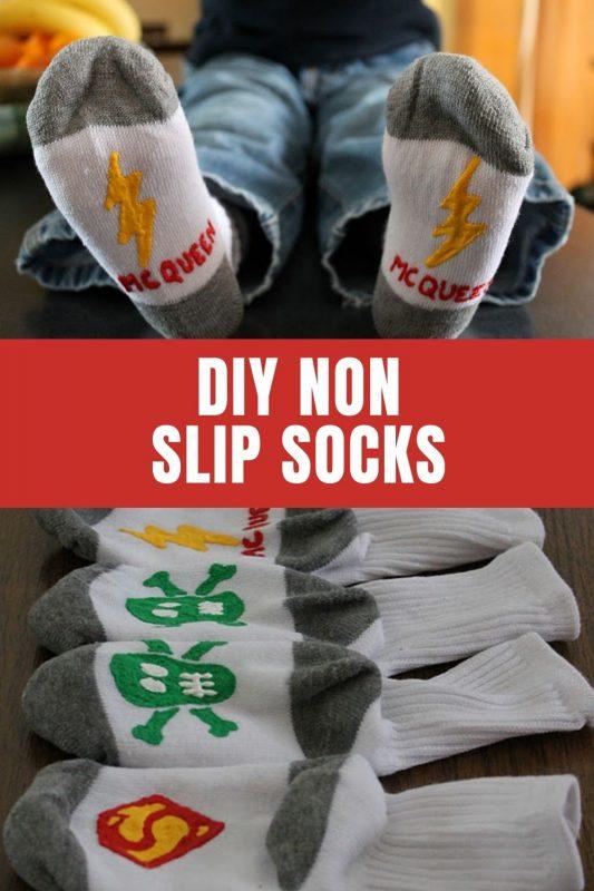 how to make non slip socks