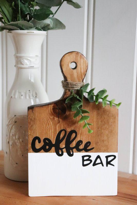 coffee bar sign svg