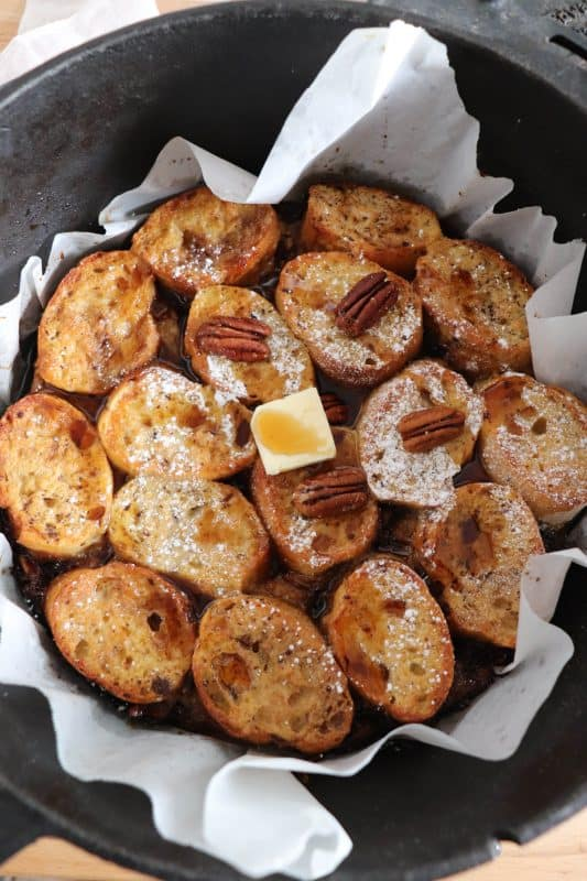 dutch oven french toast casserole