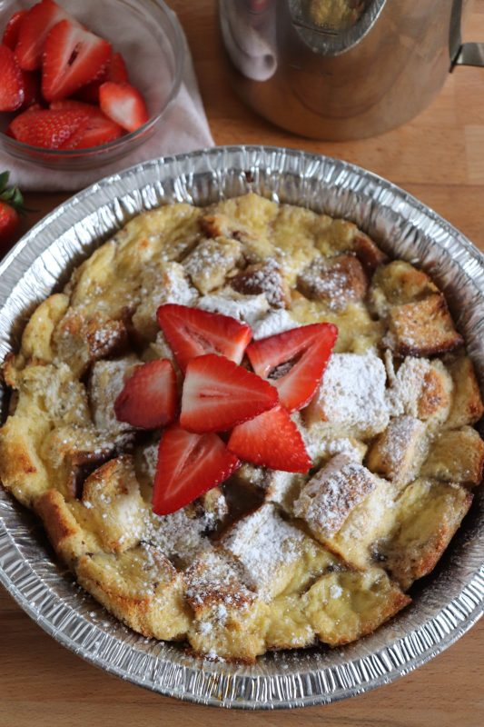 foil packet french toast bake