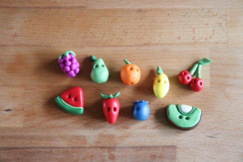 clay fruit process