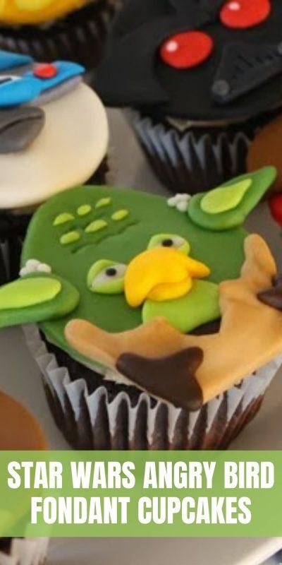 star wars angry bird cupcakes