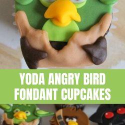 yoda angry bird cupcake tutorial